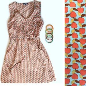 ModCloth BeeBop Vintage Peach Dress